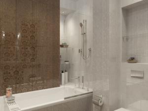 Дизайн-проект двухкомнатной квартиры. Интерьер ванной 2
