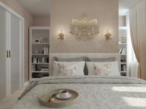 Дизайн-проект двухкомнатной квартиры. Интерьер спальни 2