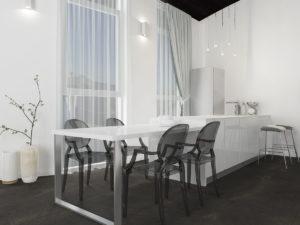 Дизайн-проект квартиры в Италии. Интерьер кухни 2