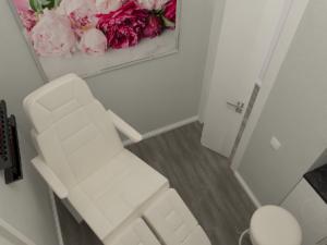 Дизайн-проект салона красоты. Интерьер педикюрного кабинета
