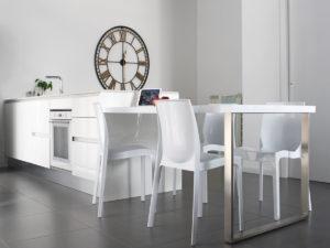 Реализация проекта квартиры в Италии. Интерьер кухни
